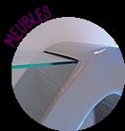 meuble en carton recyclé, mobilier design et contemporain, meuble artisanal entièrement fait main par  © CARTONS DUDULLE.