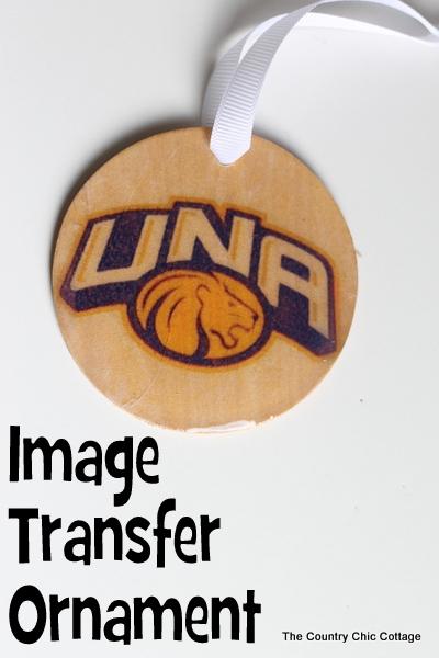 image transfer ornament