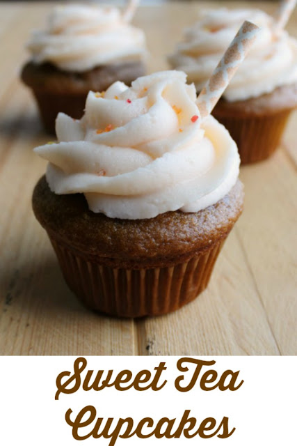 Take the taste of sweet tea and enjoy it in cupcake form! Steep the flavor of summer into this fun dessert.