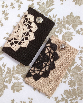 Funda de Crochet para Telf Moviles