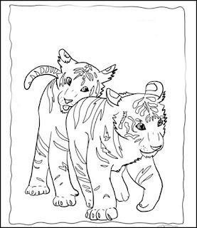 ausmalbilder zum ausdrucken: ausmalbilder tiger