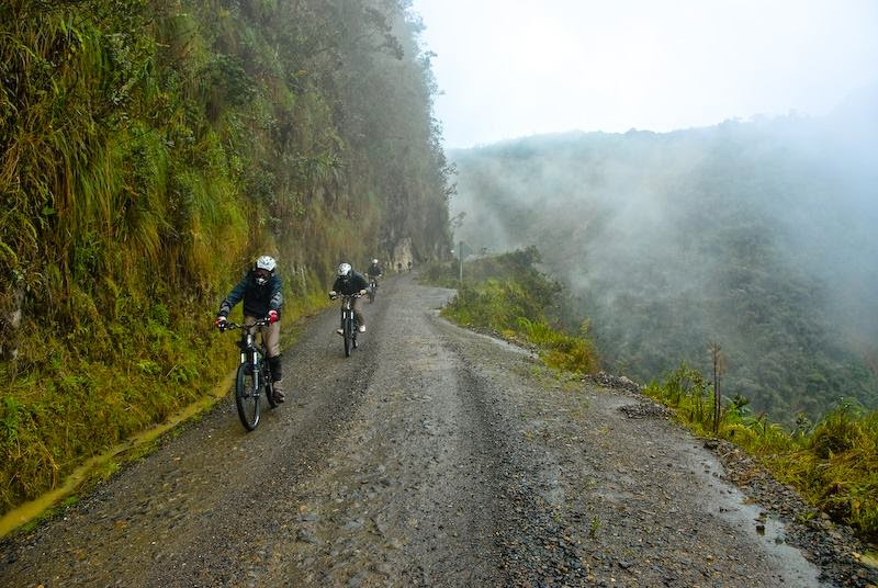 Image result for road of fate bolivia