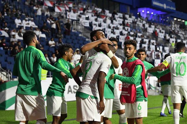 بالفيديو.. الأخضر يواصل انطلاقته بالفوز على لبنان في آسيا 2019