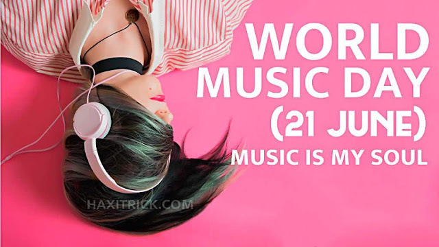 World Music Day 2020 Wishes Images Music is in My Soul