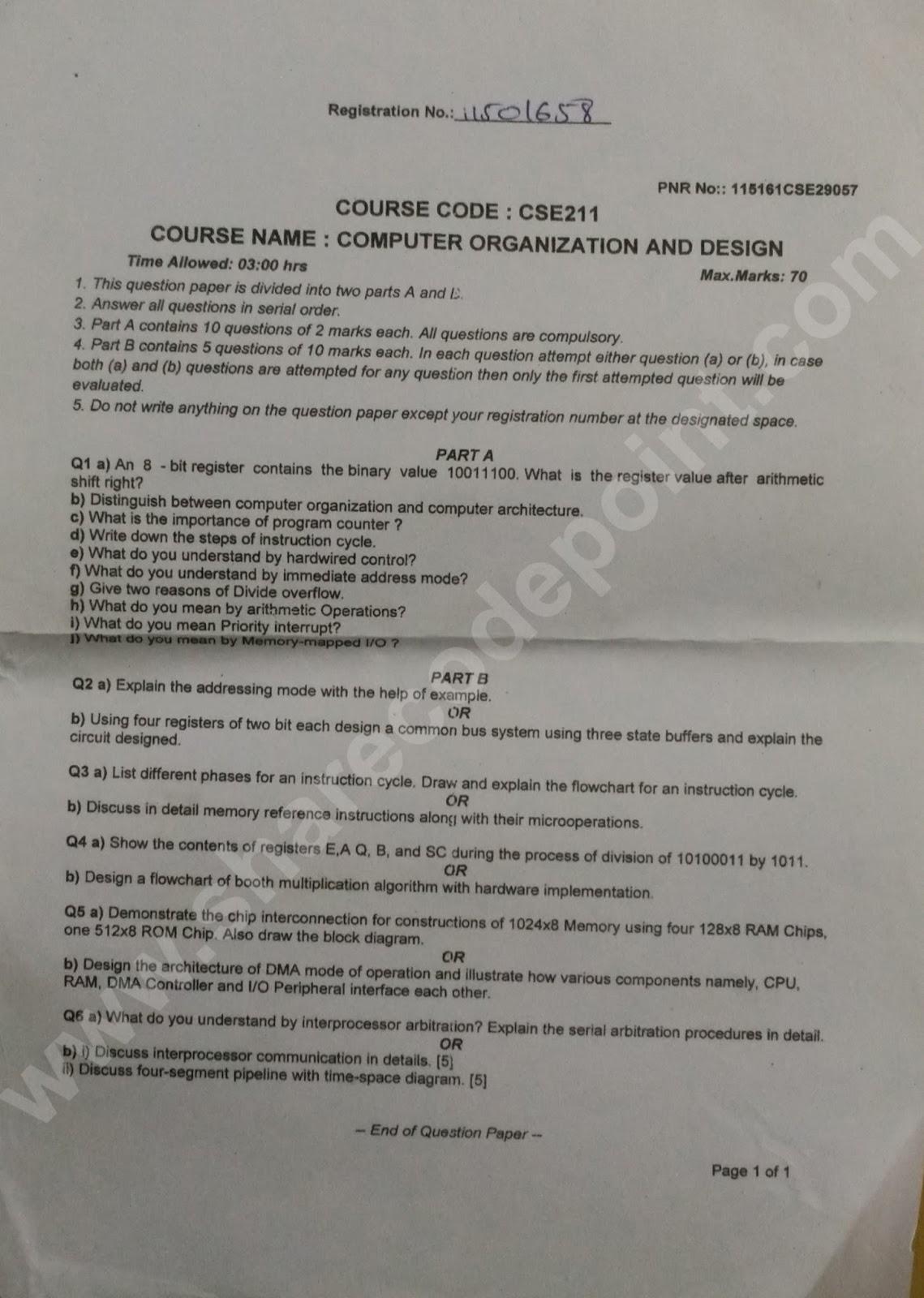 Computer term paper