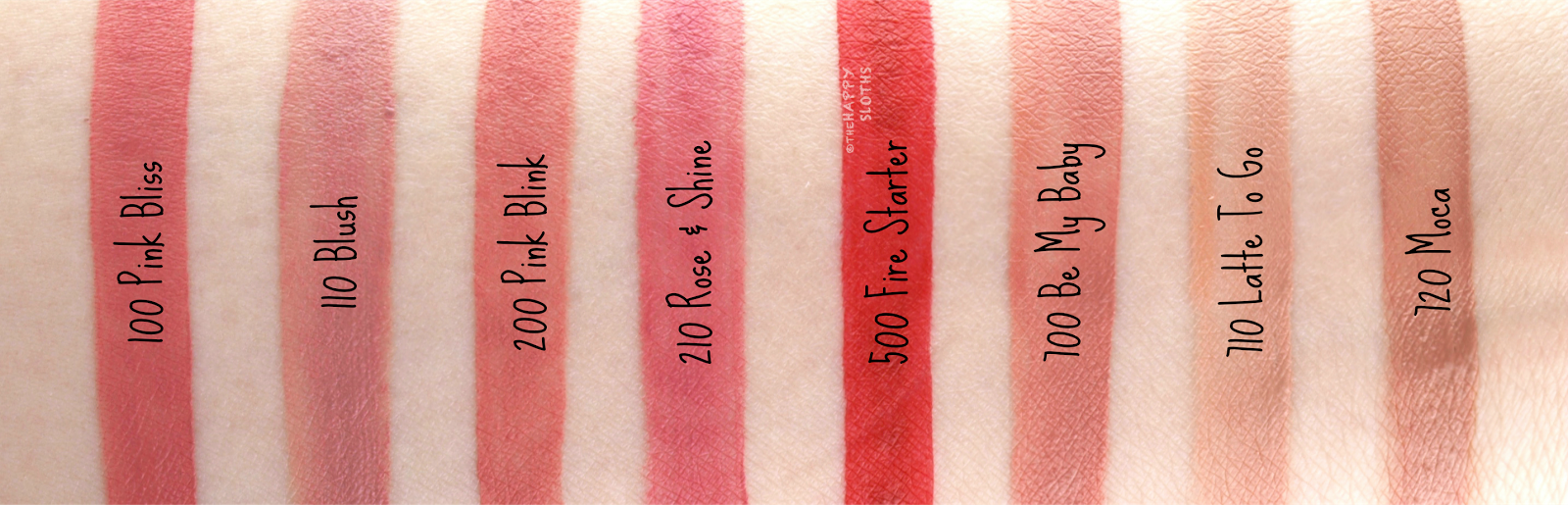 Rimmel London Stay Matte Liquid Lip Colour: Review and Swatches