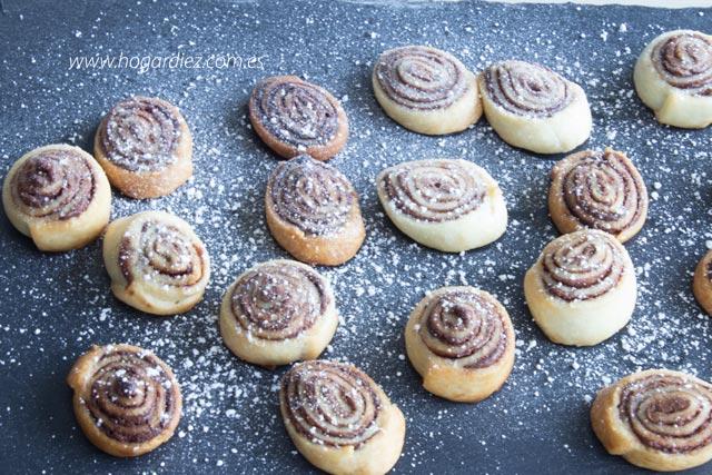 Mini galletas de nutella