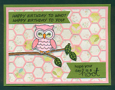 Hope your day is a hoot by Margo features What a Hoot by Newton's Nook Designs; #newtonsnook