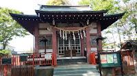 稲城市 青渭神社 社殿