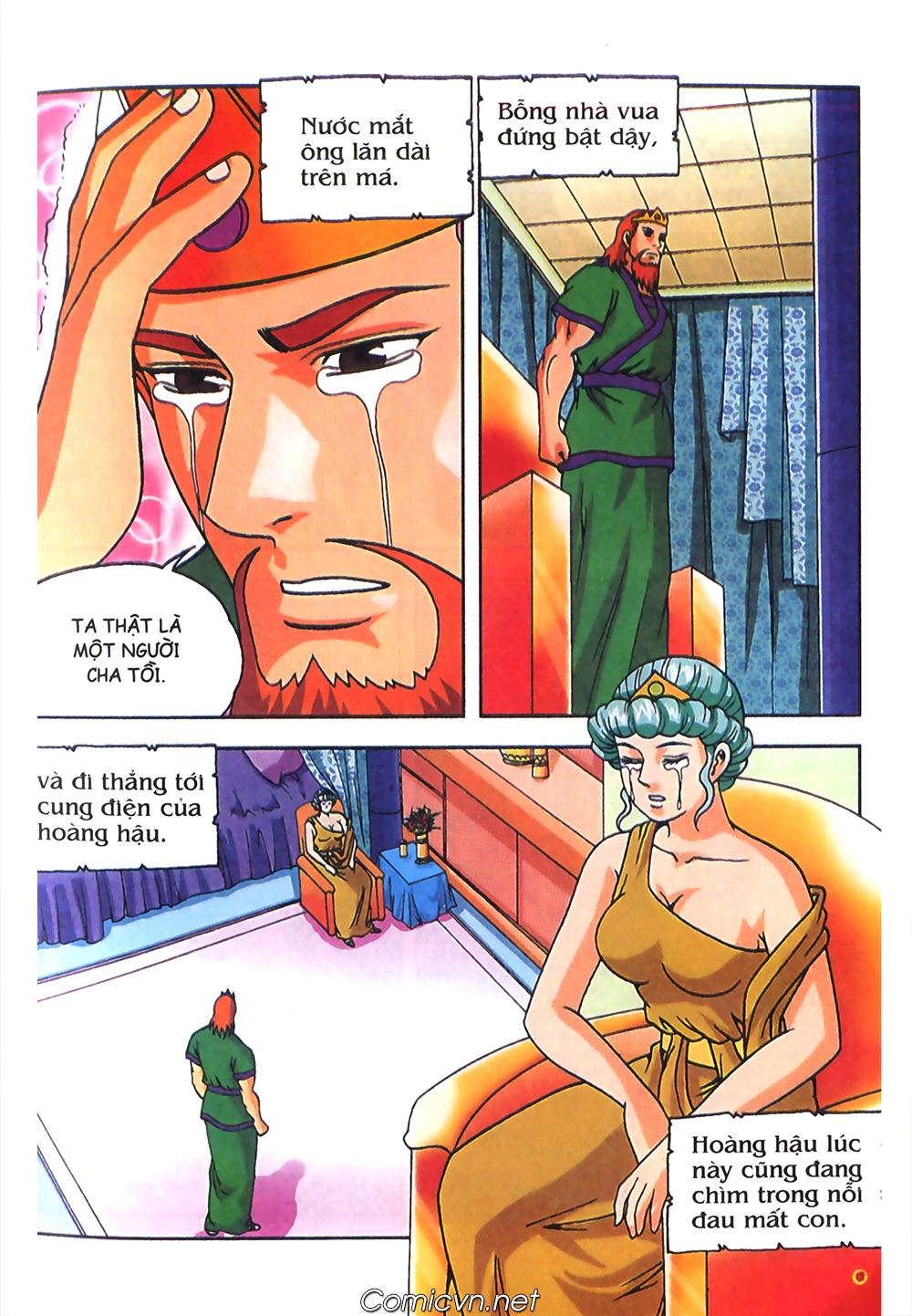 Thần Thoại Hy Lạp Màu - Chapter 63: Lão vương Pri am chuộc xác con - Pic 7