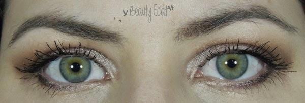 tutoriel maquillage facile rapide yeux verts