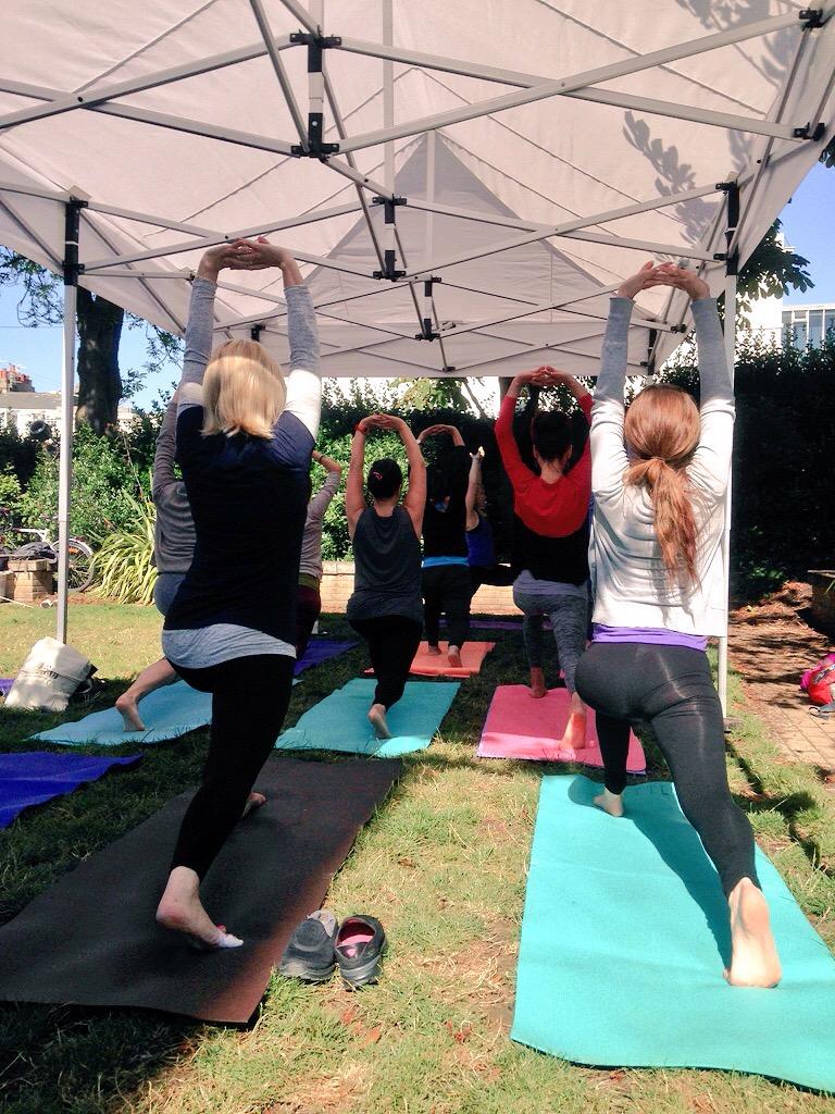 Brighton Yoga Festival 2015 - St Georges Church Kemptown