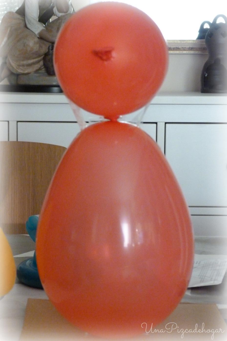 base de globos para hacer un ninot fallero