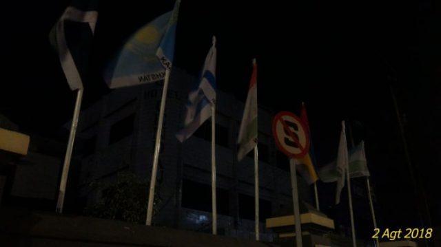 Bendera Israel Berkibar bersama Bendera Peserta Asian Games di Palembang