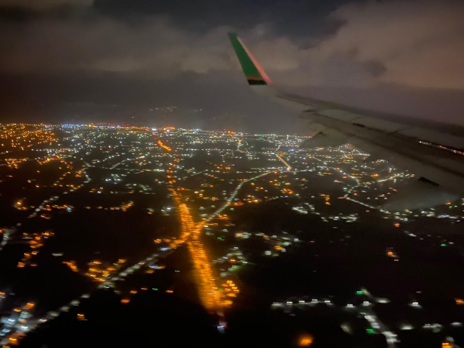青森飛回台灣