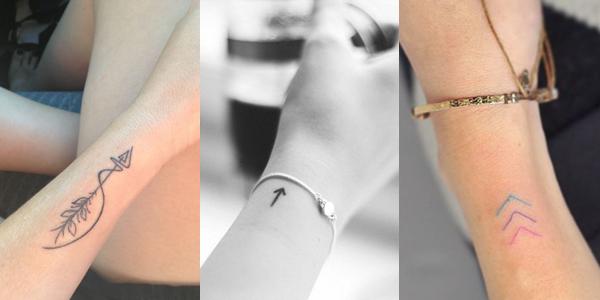 Tatuagens setas - Blog Mente Viajante