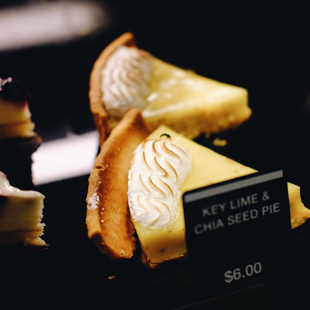 Key Lime & Chia Seed Pie