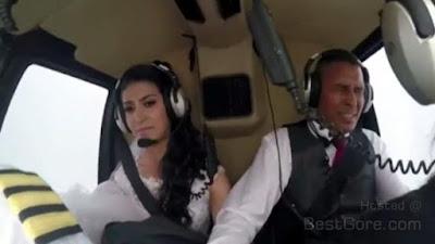 Helicopter crash, News, Bride, Wedding Day,