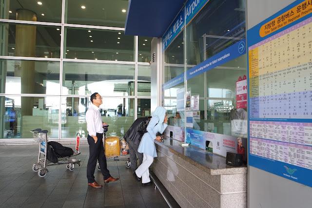 Cara naik airport bus dari Incheon ke Seoul