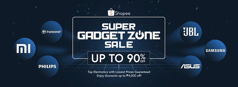 Shopee Super Gadget Zone Sale