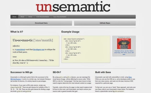 Unsemantic Framework