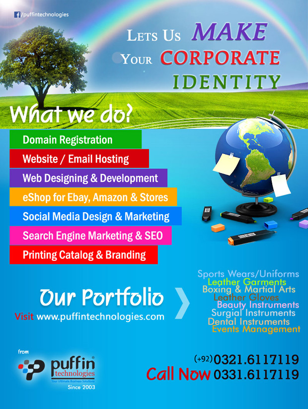Web Design, Web Development, Printed Catalogs, Profiles, PDF Catalogs, Sports Web Design Development, cPanel Web Hosting