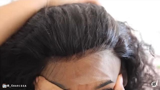 como colocar lace wigs