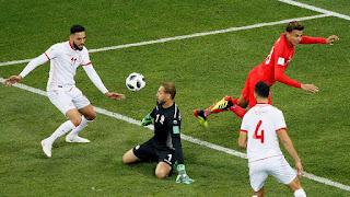 ملخص مباراة تونس و انجلترا 1-2  ضمن مباريات كاس العالم 2018 في روسيا | المنتخب التونسي يكمل سلسلة خسارة المنتخبات العربية في كاس العالم 2018 في الاوقات الاخيرة