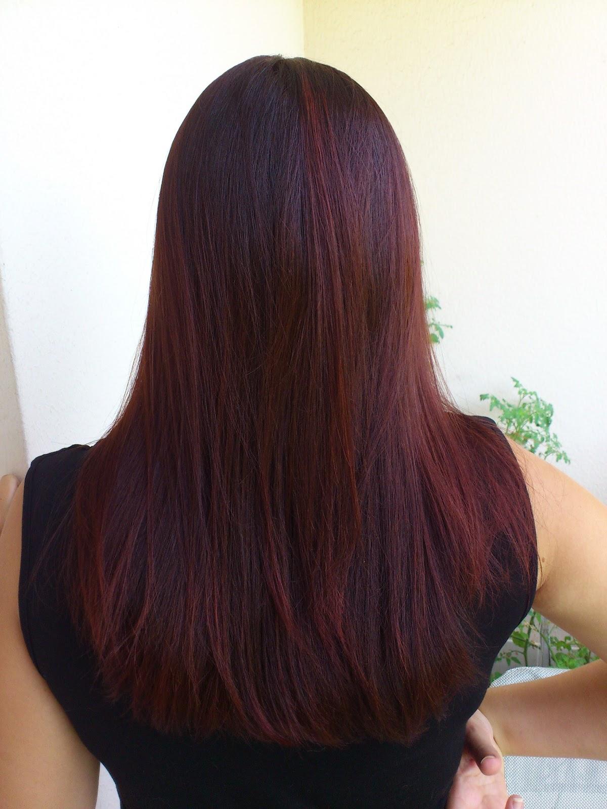 Meche cheveux henne