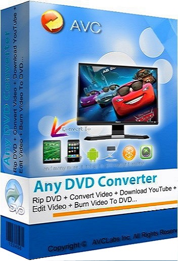 Any DVD Converter Professional 6.2.3 poster box cover