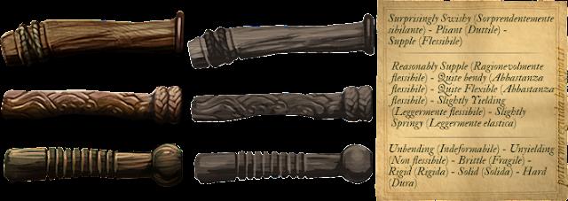 Flessibilità delle bacchette di Pottermore