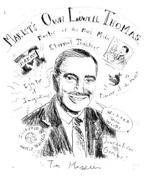 Daniel Baxter Art: Marist Tribute