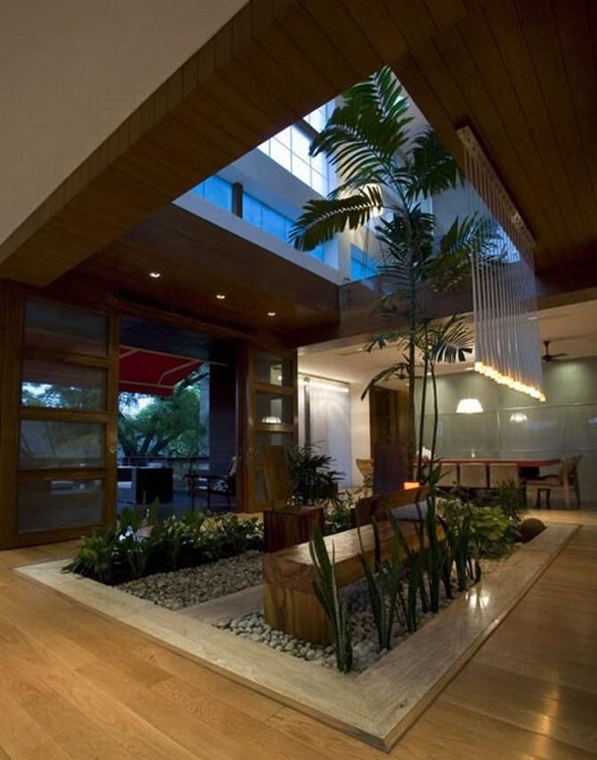 modern luxury house design new delhi residence pictures. Black Bedroom Furniture Sets. Home Design Ideas