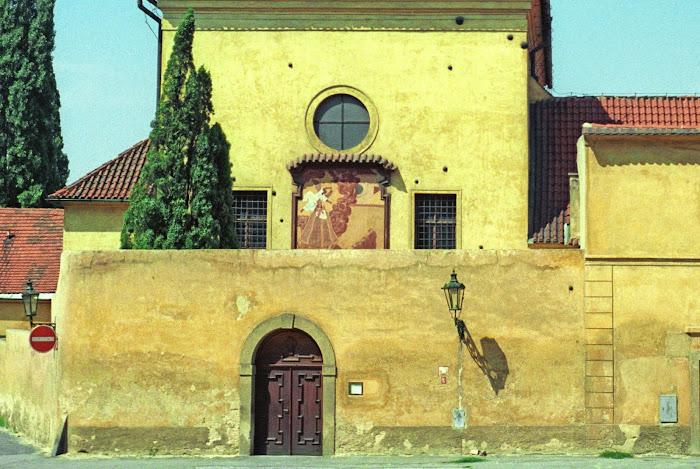 Prague, Panny Marie Andělské, Notre-Dame des Anges, © L. Gigout, 1990