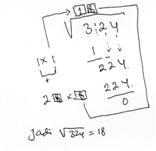 """23/03/2021· salah satu materi pelajaran matematik untuk kelas 9 pada kurikulum 2013 revisi 2018 adalah mengenai """"bilangan berpangkat dan bentuk akar"""". Teknik Penarikan Akar Pangkat Dua Tips Belajar Matematika"""