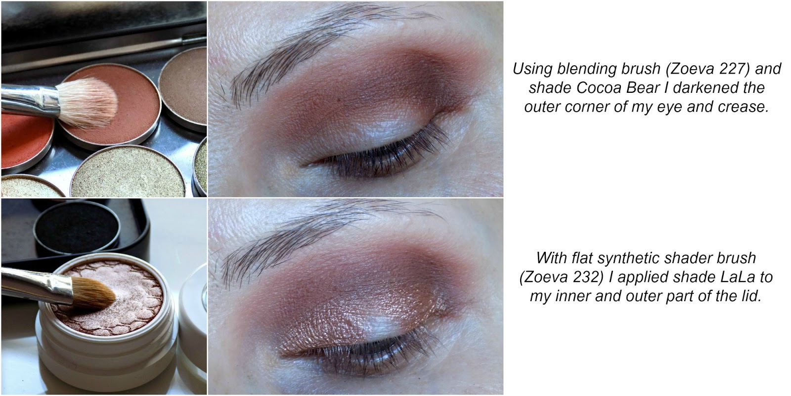 rose golden eyes makeup tutorial