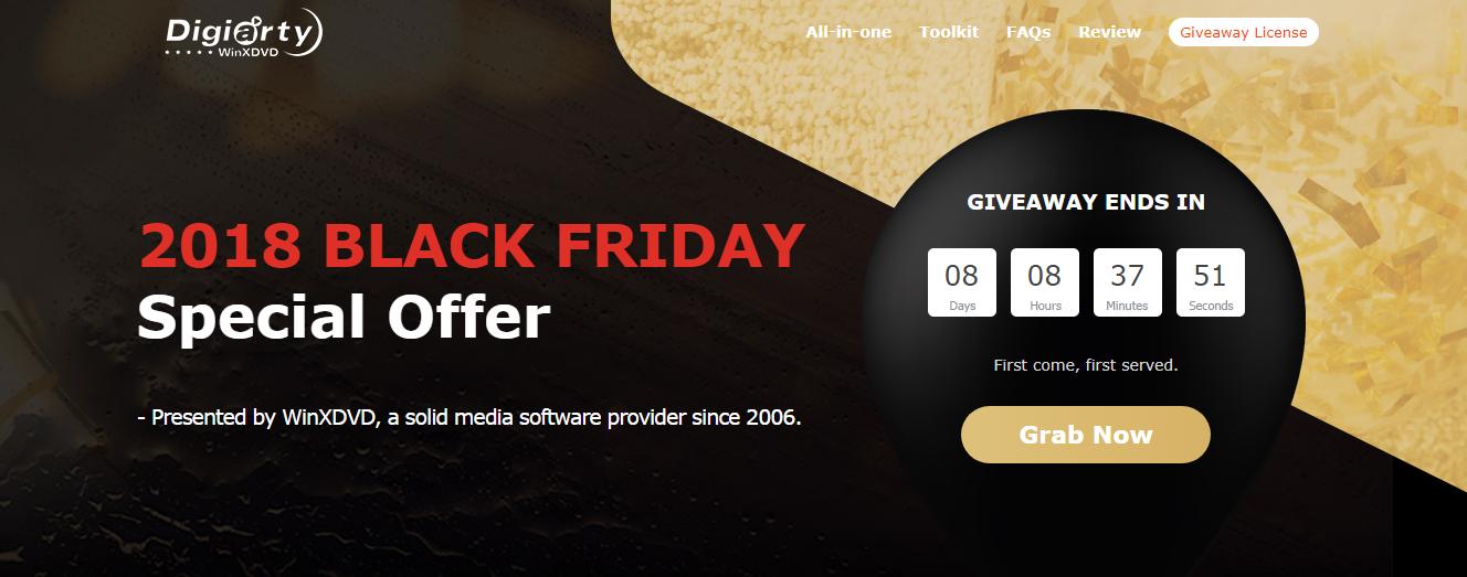 أحصل على برنامج WinX Free DVD Ripper أفضل برنامج لحرق الأقراص للويندوز + هدايا اخرى للبلاك فرايداي