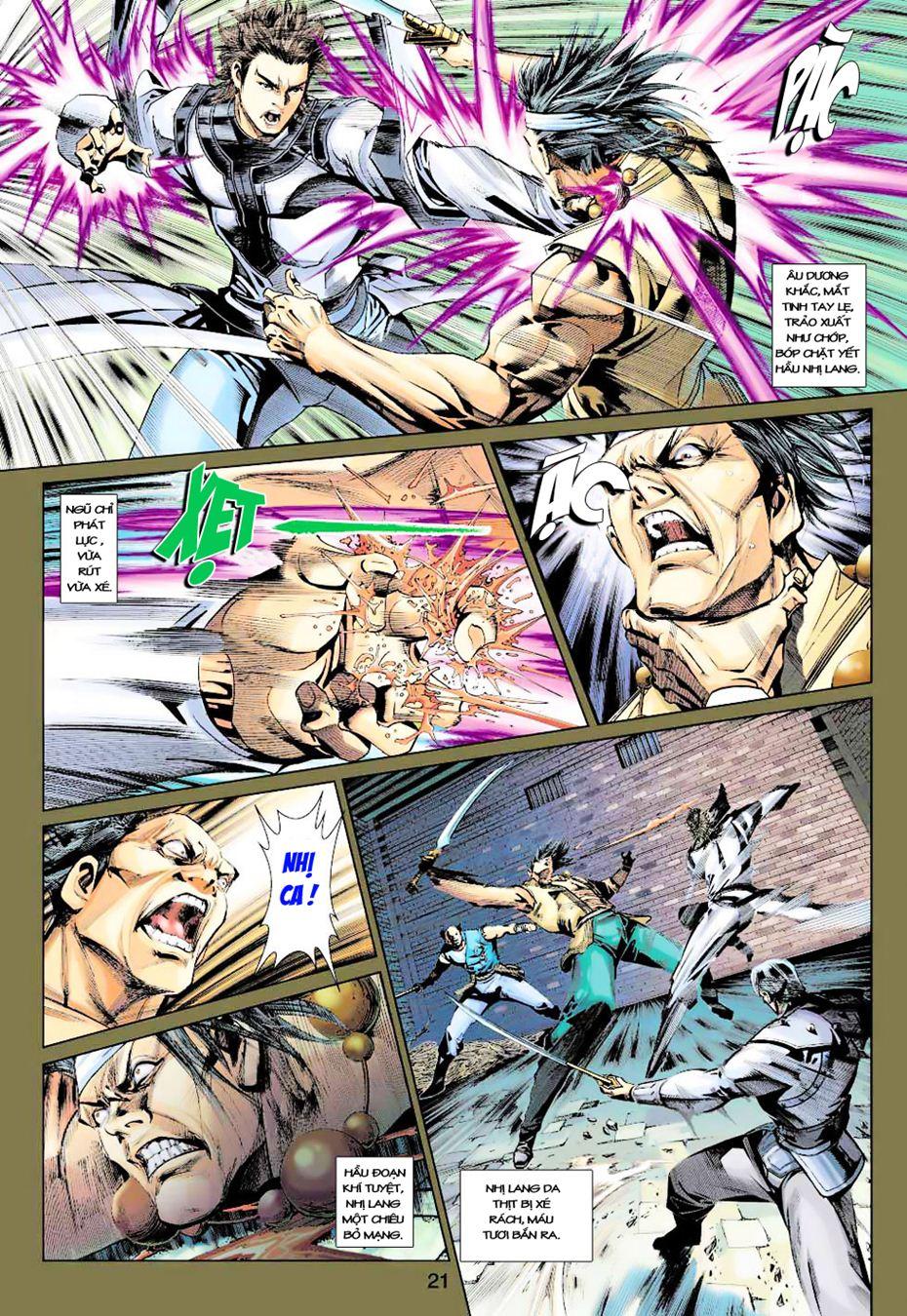 Anh Hùng Xạ Điêu anh hùng xạ đêu chap 35 trang 21