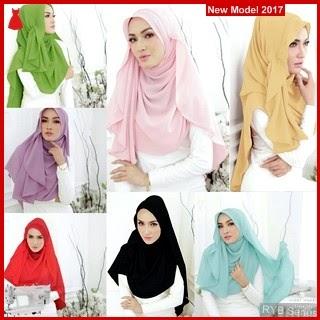 RYB090B Kerudung Jilbab Cantik Instant Murah Shabil BMG Online Shop