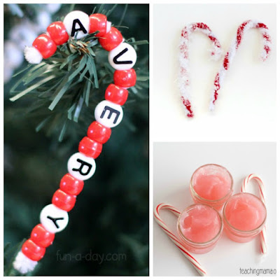 candy cane craft ideas