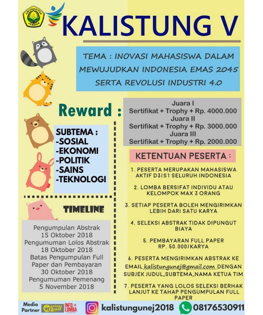 Contest Paper KALISTUNG V 2018
