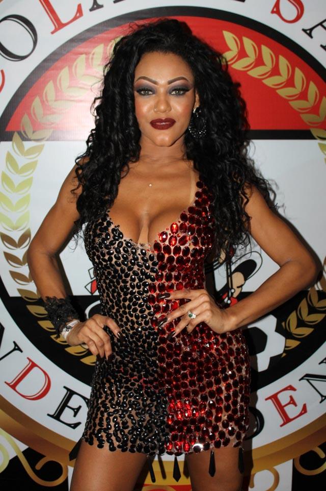 Cassia Almeida, Musa da Independente Tricolor. Foto: Renato Cipriano