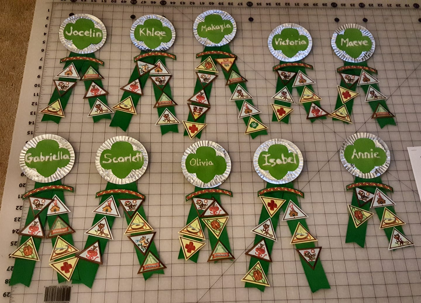 Inventive Ways to Display Girl Scout Badges and Patches
