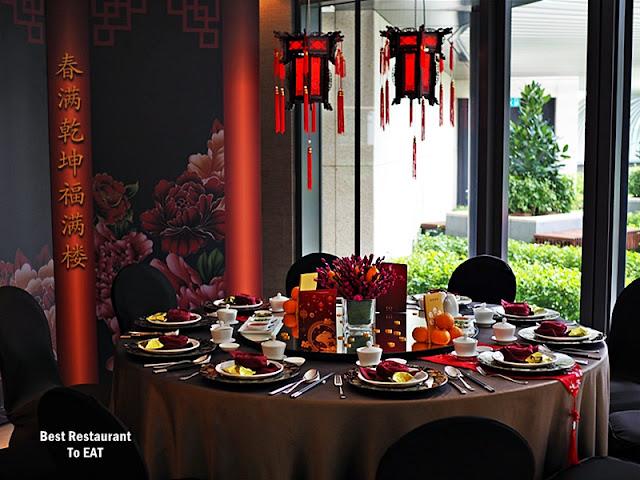 NIPAH @EQ KUALA LUMPUR Chinese New Year Pop-Up Set Menu Table Setting