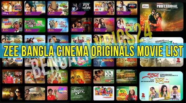 Zee Bangla Cinema Originals Movie List