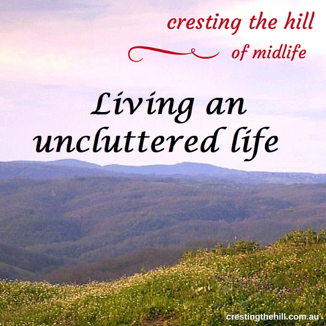 #midlifeblog cresting the hill
