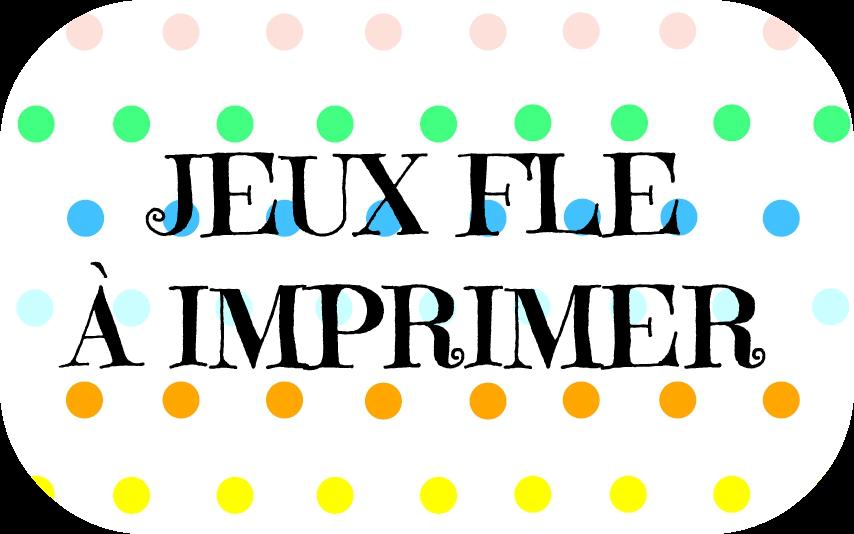 Beliebt Francés hasta en la sopa: Jeux pour la classe de FLE à imprimer  EL47