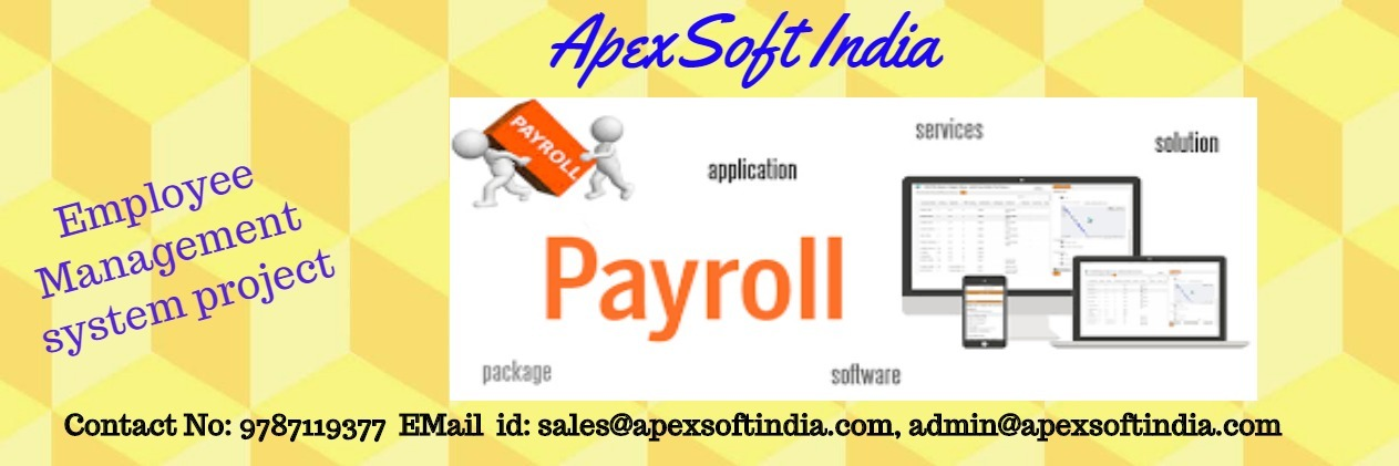 Employee Management system project | Apexsoft India |Contact