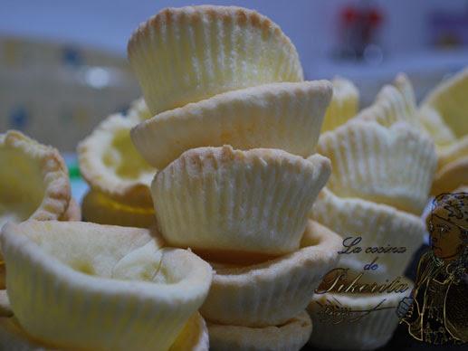 Tartaletas para rellenar sin gluten