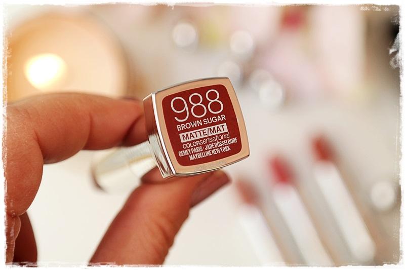 Maybelline Matte Lipstick 983 Beige Babe 987 Smoky Rose 932 Clay